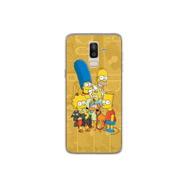 Capa para Galaxy J8 - História em Quadrinhos | Simpsons