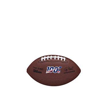 """Bola de Futebol Americano Wilson - NFL 100""""The Duke"""" Replica Ball Mini"""