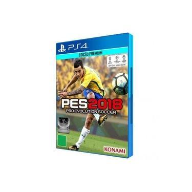 PES 2018 para PS4 - Konami