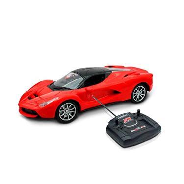 Imagem de Carrinhos Controle Remoto Vermelho Ferrari Inmetro Anatel