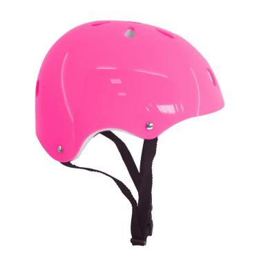 Capacete Infantil Proteção Skate Bicicleta Feminino Rosa Dm