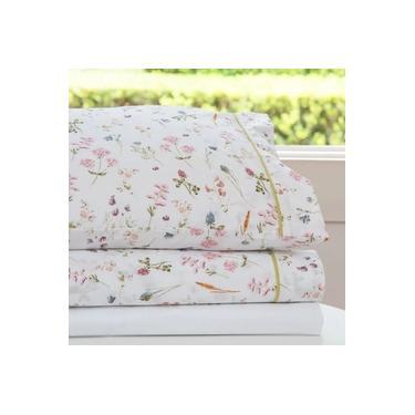 Imagem de jogo de cama king scavone 200 fios 100% algodão jasmine