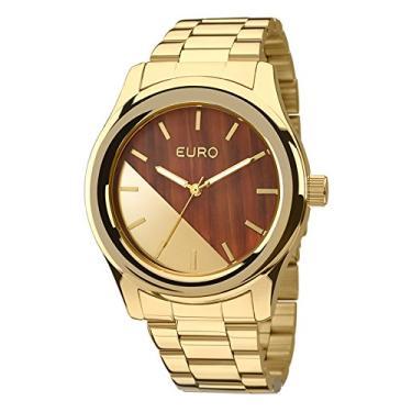 5327b50e162 Relógio Euro Feminino Madeira Fashion EU2036MAA 4M