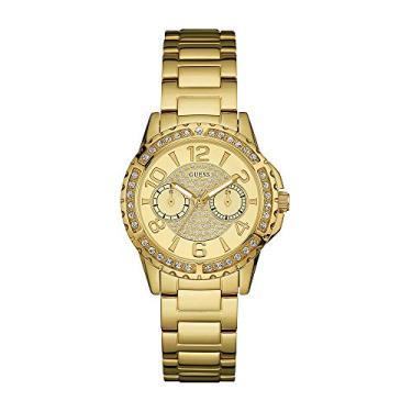 8c7e404e8dc Relógio Guess Feminino Multifunção Dourado 92591LPGSDA1