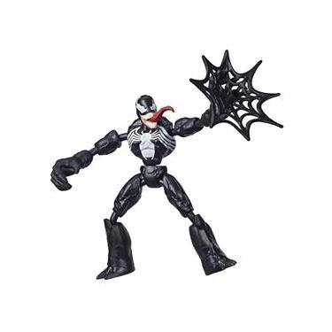 Boneco Articulado - 20 Cm - Disney - Marvel - Spider-Man - Venon - Bend and Flex - Hasbro