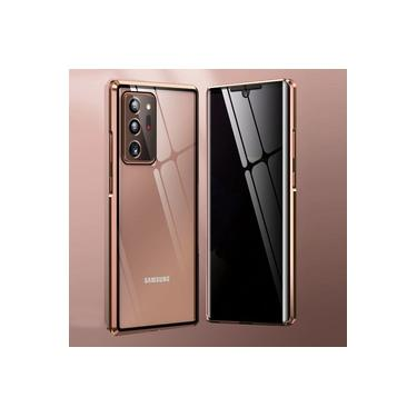 Capa Crystal Magnética Anti Curioso Samsung Galaxy Note 20 Ultra – Bronze