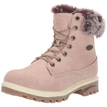 Bota de inverno feminina Empire Hi da Lugz, Soft Pink/Bone/Gum, 9.5
