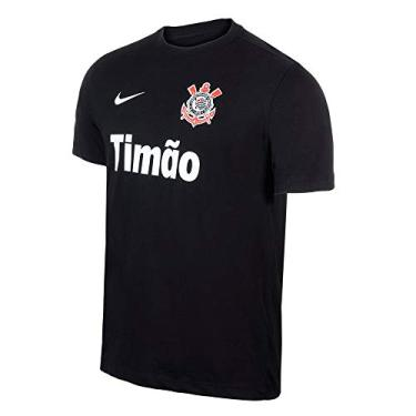 Camiseta Corinthians Nike Manga Curta Torcedor