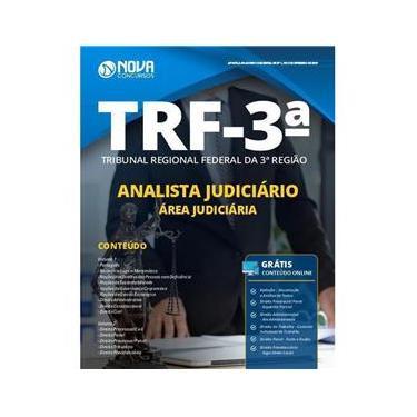 Imagem de Apostila Trf 3 2019 - Analista Jud - Judiciária
