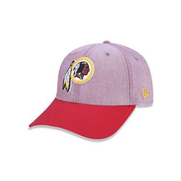 BONE 940 WASHINGTON REDSKINS NFL ABA CURVA SNAPBACK VERMELHO NEW ERA 1cdee125944