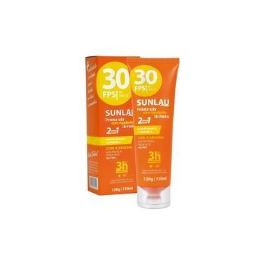 Protetor Solar Esportivo e Repelente Sunlau - FPS30 - 120g