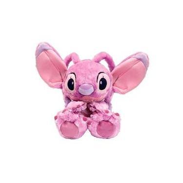 Imagem de Pelúcia Disney Lilo & Stitch Angel Big Feet Da Fun F00643