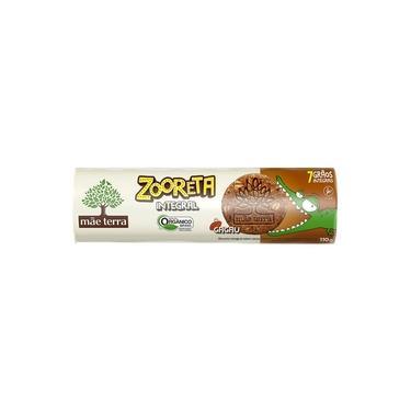 Biscoito Infantil Zooreta Cacau Integral Mãe Terra 110g