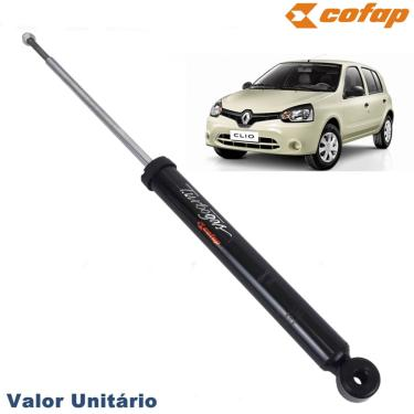 Amortecedor Traseiro Turbogás Cofap Renault Clio 1.0 2012 Até 2015