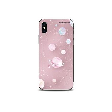 Capa Case Capinha Personalizada Planetas Poeira Estrelar iPhone 6/6S - Cód. 1301-A004