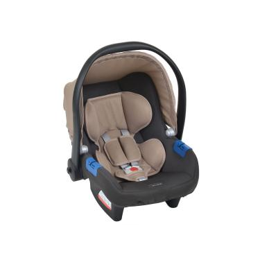 Bebê Conforto Burigotto Touring X Cinza E Bege Suporta De 0 A 13 Kg