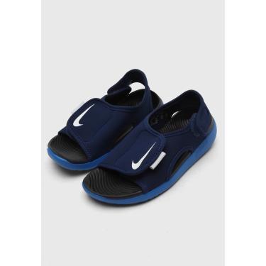 Imagem de Sandália Nike Infantil Sunray Adjust 5 V2 Bgp Azul-Marinho Nike DB9562-401 menino