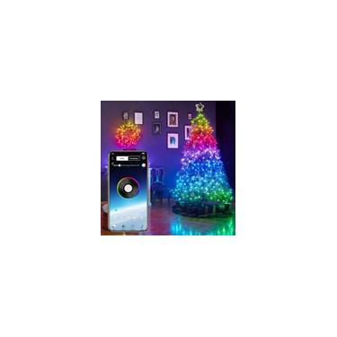 20m de decoração de árvore de Natal Luzes Pisca Natal Led