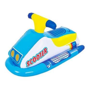 Boia Inflável Infantil Jet Ski - Azul - Brizi