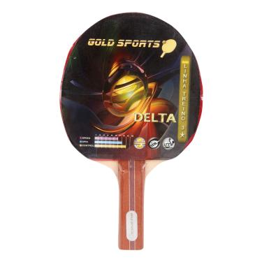 bde043ff9dc93 Raquete Tenis De Mesa Gold Sports Delta - Unissex