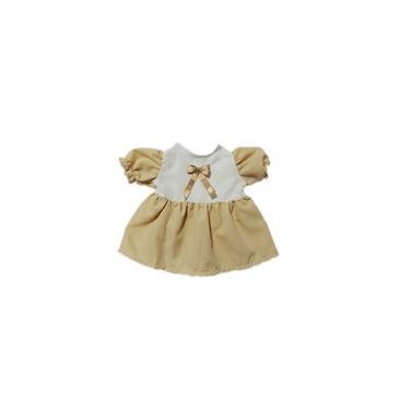 Imagem de Roupa Para Boneca Adora Doll - Vestido Bege Fita