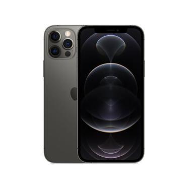 Imagem de Iphone 12 Pro Apple 256Gb Grafite 6,1 - Câm. Tripla 12Mp Ios + Airpods