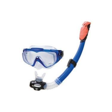 Kit Mergulho Silicone Aqua Pro - Intex 55981