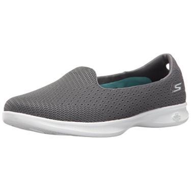 Sapatilha Skechers Go Step Lite Origin Feminina - Cinza - 34