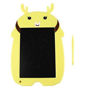 Imagem de ARTIBETTER Lcd Tablet Tablet Apagável Doodle Quadro Eletrônico Digital Bloco de Desenho Infantil Tablet Escrever Criança Crianças Presentes de Aniversário Amarelo