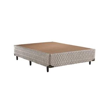 73269dbd0 Base Box para Colchão Casal Biflex Ibiza 42x138x188 cm – Bege