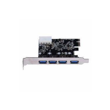 Placa Pci Express 4 USB 3.0