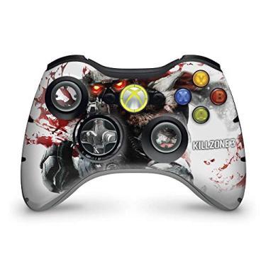 Skin Adesivo Para Xbox 360 Controle - Killzone 3