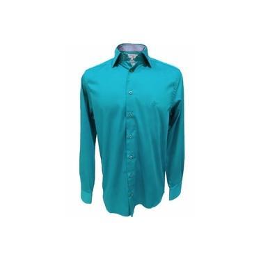 Camisa Masculina Dudalina - Verde
