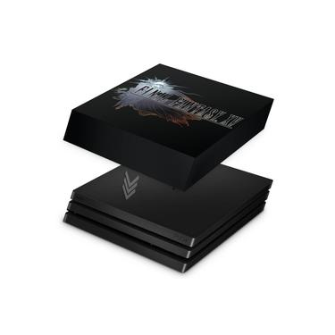 Capa Anti Poeira para PS4 Pro - Final Fantasy XV #A