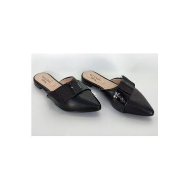 Sapato Infantil Mule Mini Sua Cia Preto 9026