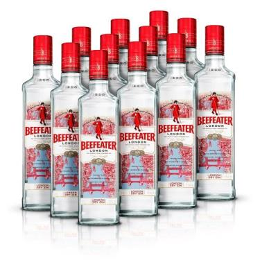 Kit Gin Beefeater London Dry 750ml - 12 Unidades