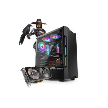 PC Gamer Neologic Dark Shadow NLI81272 Intel i5-9400F 8GB (GeForce GTX 1660) 1TB