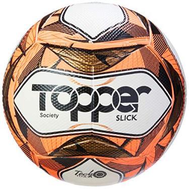 Topper - Bola Slick 2019 Society, Vermelha Neon