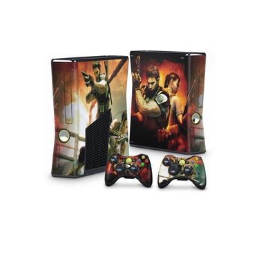 Skin Adesivo para Xbox 360 Slim - Resident Evil 5