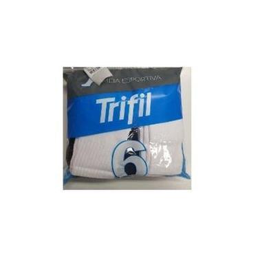 Meia Esportiva Cano Médio Trifil Ref.8720 - Kit Com 6