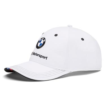 Boné Puma Aba Curva BMW Motorsport BB - Unico - Branco