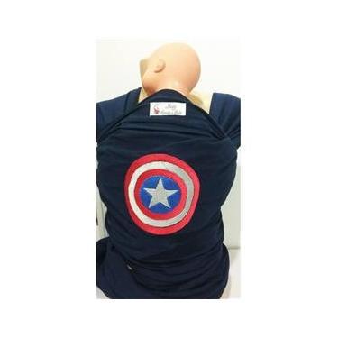 Imagem de Wrap Sling Bordado Personalizado Tema Capitão América