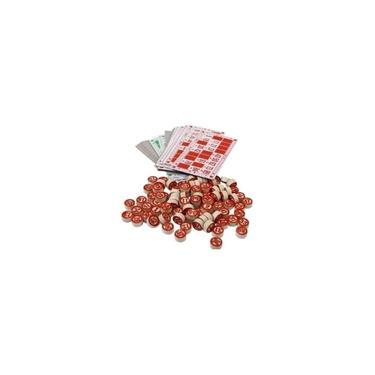 Imagem de Jogo De Bingo Loto 90 Pedras Em Madeira E 48 Cartelas