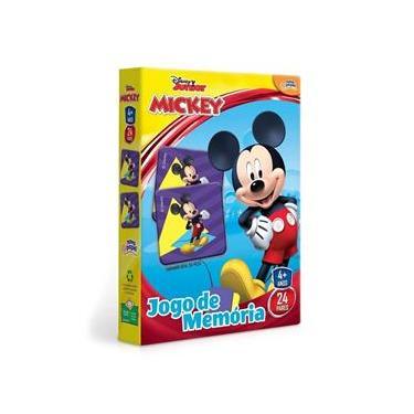 Imagem de Novo Papel Jogo de Memória da Turma do Mickey da Disney 8004