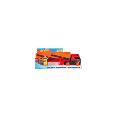 Imagem de Hot Wheels Caminhão Mega Red Hauler 50th Ghr48 Mattel