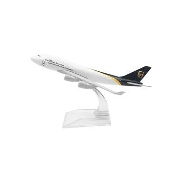 Imagem de Miniatura Aviao Boeing 747 UPS Aeronave Comercial Airplane