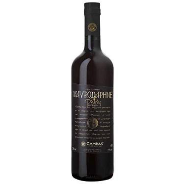 Vinho Tinto Grego Licoroso Doce Mavrodaphne Cambas