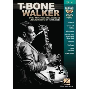T Bone Walker Guitar Play Along Dvd V42: Guitar Play-along Dvd Volume 42
