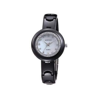 Relógio de Pulso Analógico Cerâmica   Joalheria   Comparar preço de ... bec8f9effa