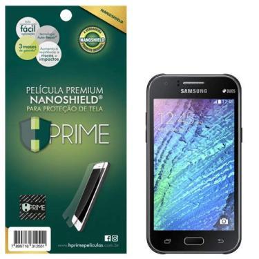 Pelicula HPrime NanoShield para Samsung Galaxy J1, Hprime, Película Protetora de Tela para Celular, Transparente